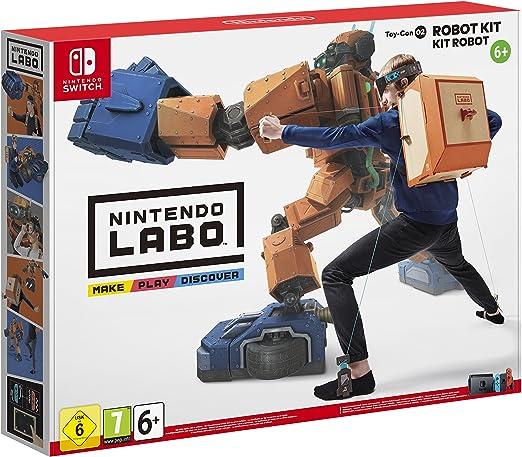 Nintendo Labo: Toy-Con 02 - Kit Robot - Nintendo Switch [Importación italiana]: Amazon.es: Videojuegos