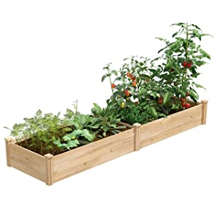 Greenes Fence Raised Garden Bed Planter