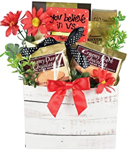 Gift Basket Village #1 Teacher Show A Teacher Some Appreciation With A Basket Loaded WIth Gourmet Snacks (3 lb), Chocolate