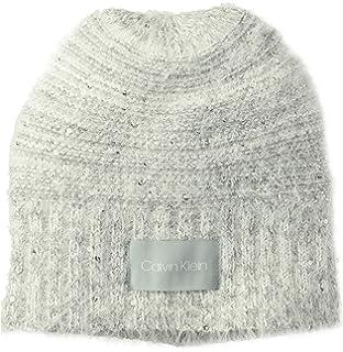 db501efd2f5 Calvin Klein Women s Ombre Knit Fleece Lined Beanie