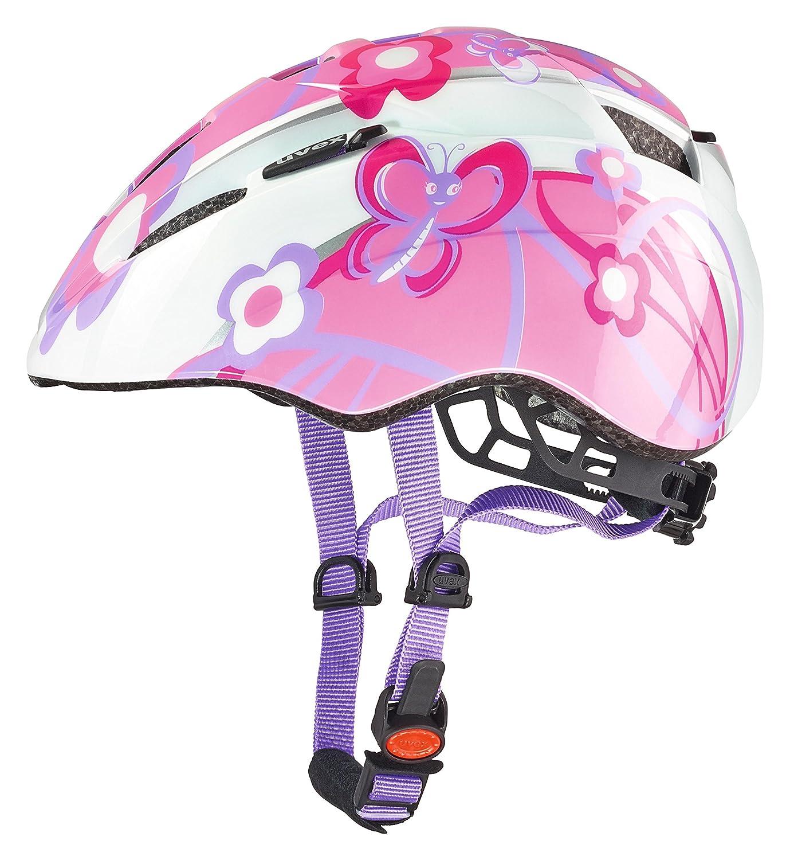 Color Rosa Uvex Kid 3 Casco de Ciclismo Unisex