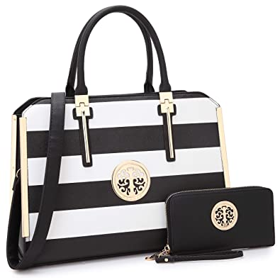 faeeb6e2cfa Image Unavailable. Image not available for. Color  Designer Women Laptop  Briefcase, Large Handbag for Lady PU Leather Satchel Lightweight Tote  Summer Cross