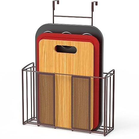 Amazon.com: Organizador de puerta sobre el armario.: Kitchen ...