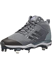 adidas Mens Freak X Carbon Mid Baseball Shoe, Onix, Silver Met, Light Grey