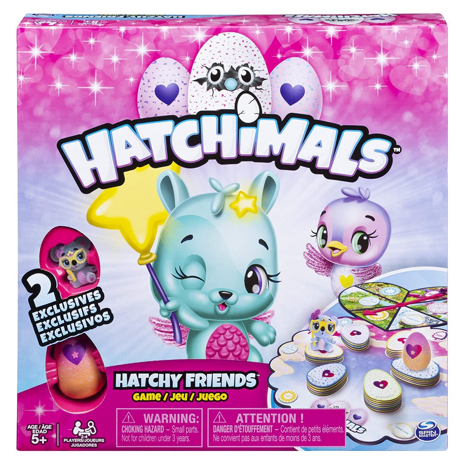 Hatchimals  Hatchy Matchy Game with Two Exclusive CollEGGtibles