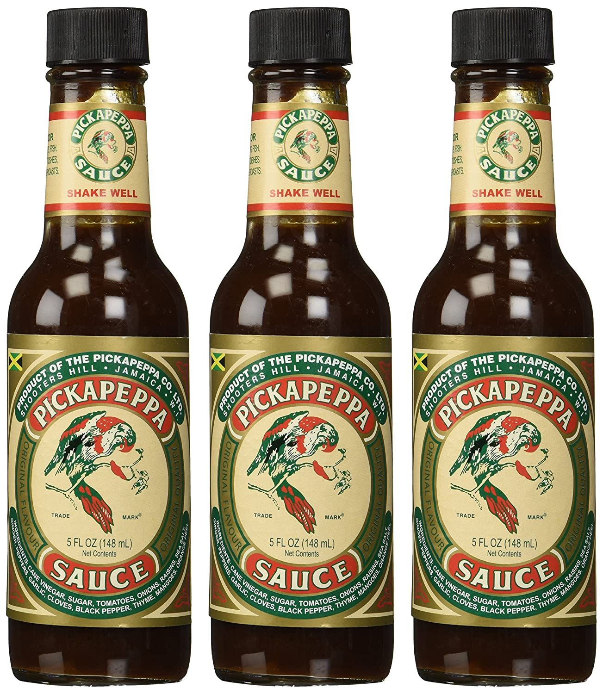 Jamaican Original Pickapeppa Sauce - 5 oz (3 Pack)