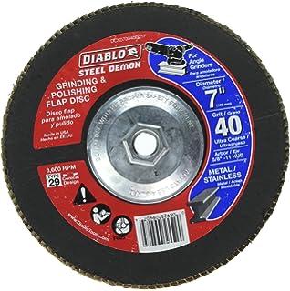 Diablo Steel Demon 40-Grit Grinding & Polishing 4.5