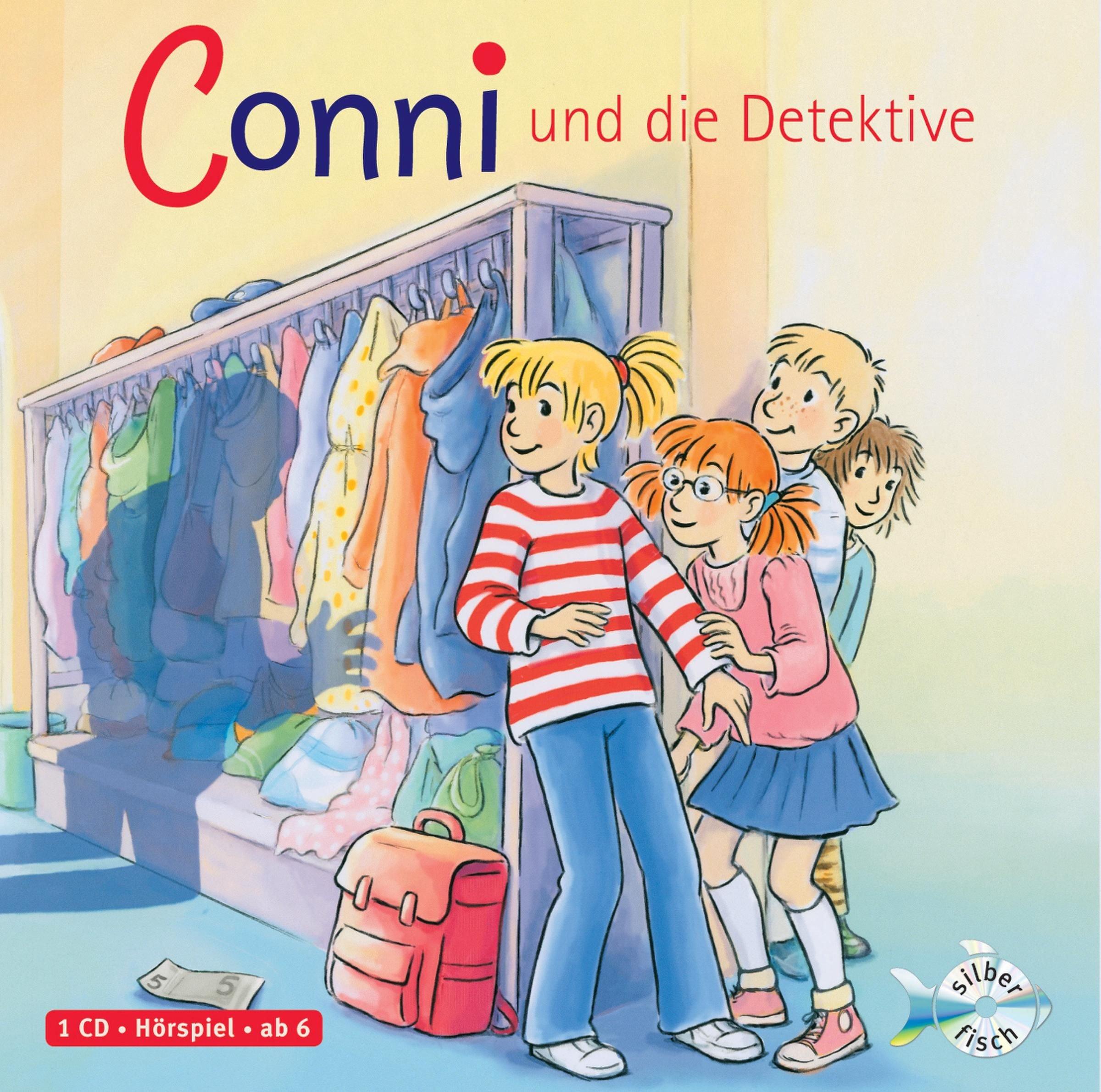 Conni und die Detektive: 1 CD (Meine Freundin Conni - ab 6, Band 18)