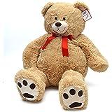 Riesen-Teddy Monti, 100cm XXL Plüschbär in hellbraun – ein XXL Teddybär zum Liebhaben von Pink Papaya Toys