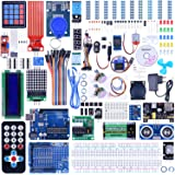 Quimat UNO R3 Project Complete Ultimate Starter Kit for Arduino with Tutorial,UNO R3 Development