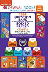 Oswaal CBSE Question Bank Chapterwise & Topicwise Solved Papers Class 12, English Core (For 2021 Exam) Kindle Edition
