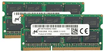 Micron Original 32GB (2x16GB) Laptop Memory Upgrade for Lenovo
