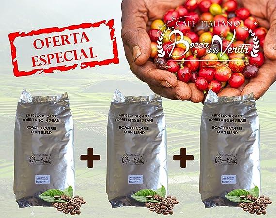 Café Torrefacto 100% ARÁBICA EN GRANOS - 1 Kg - Bocca della Verità - Café Italiano de Calidad Superior.: Amazon.es: Alimentación y bebidas