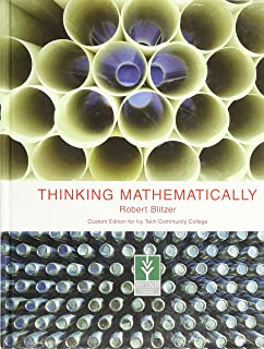 Thinking mathematically blitzer 4th edition online.