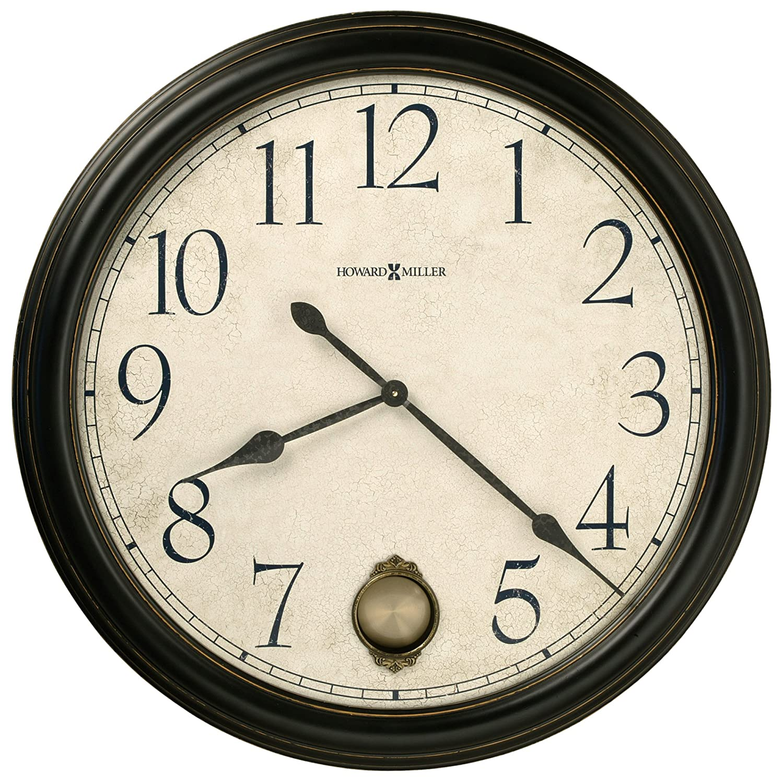 Amazon.com: Howard Miller 625 444 Glenwood Falls Gallery Wall Clock: Home U0026  Kitchen