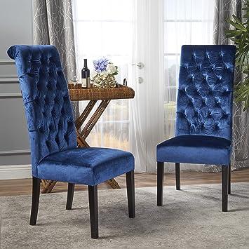 Amazoncom Christopher Knight Home 302116 Leorah Dining Chair Set