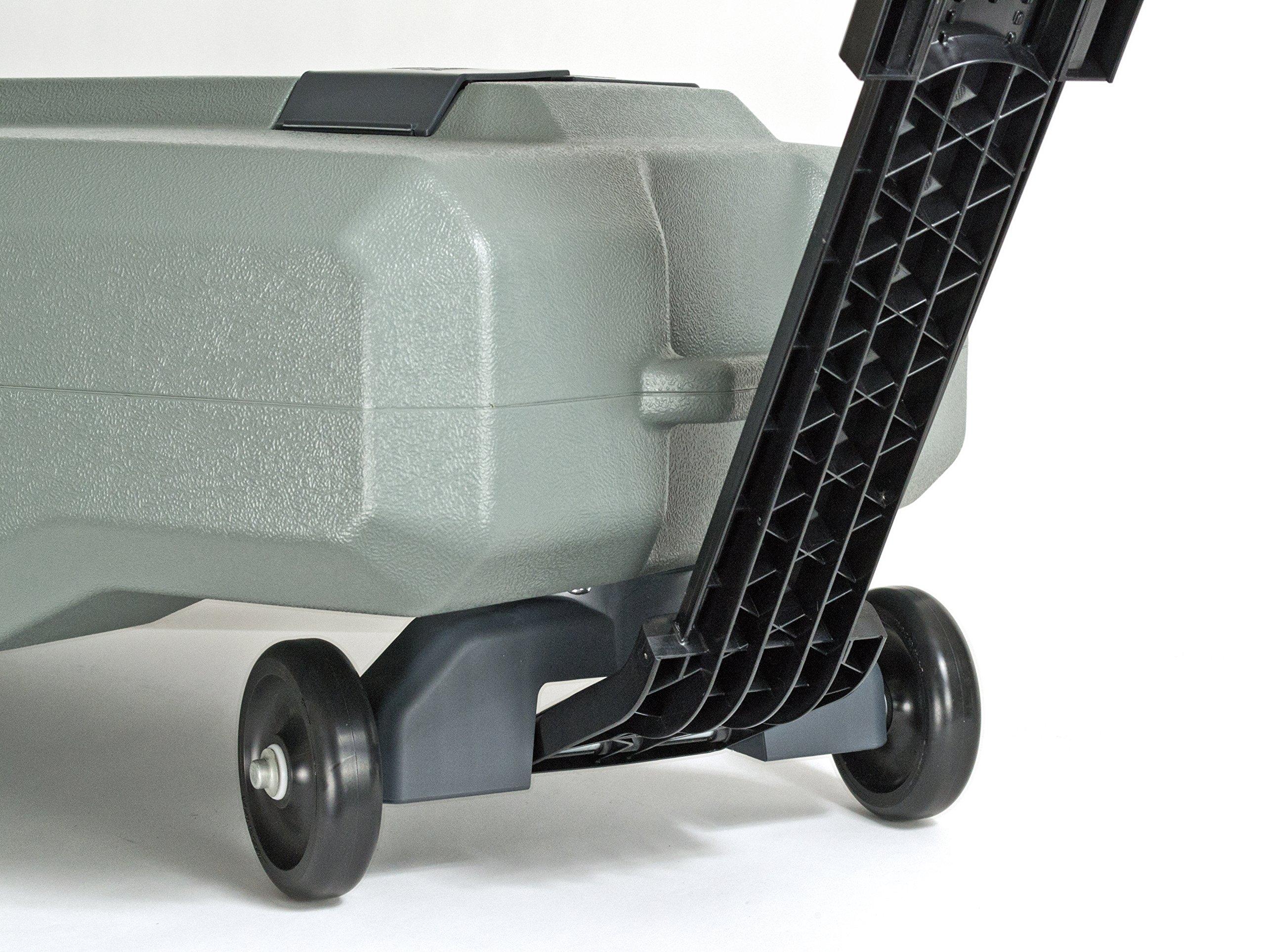 SmartTote2 RV Portable Waste Tote Tank - 4 Wheels - 35 Gallon - Thetford 40519 by SmartTote2 (Image #11)