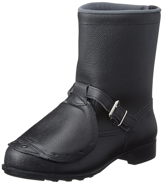 [ドンケル] 安全靴 甲プロテクター付き 半長靴タイプ JIST8101革製S種M合格(V式) 甲プロ付き安全靴 半長靴 606コウプロ B01MR6XNLQ ブラック 26.5 cm