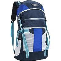 "POLE STAR ""TREK 44 Lt Blue grey Rucksack I Hiking backpack"