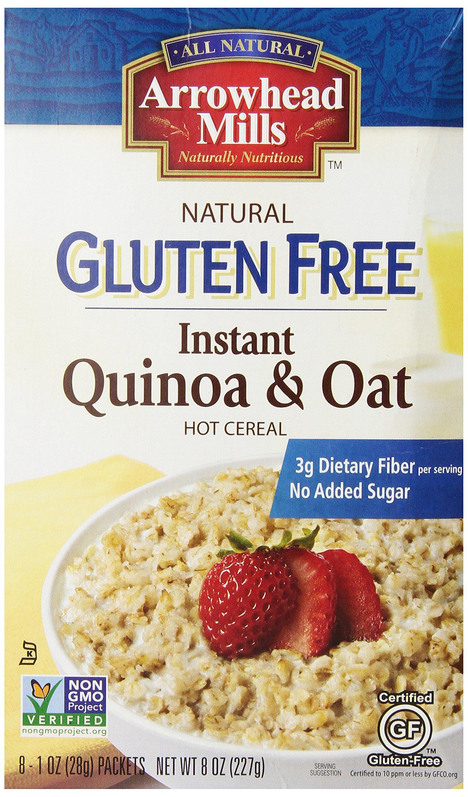 Arrowhead Mills Gluten Free Instant Quinoa & Oat, 1 Ounce (8 Count)