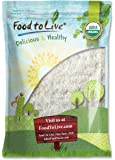 Food To Live Organic Shredded Coconut (Desiccated, Unsweetened, Non-GMO, Bulk) (4 Pounds)