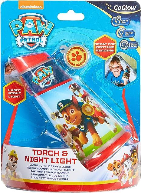Souple PAW Patrol Lite Everest GoGlow Buddy lumière nuit et torche