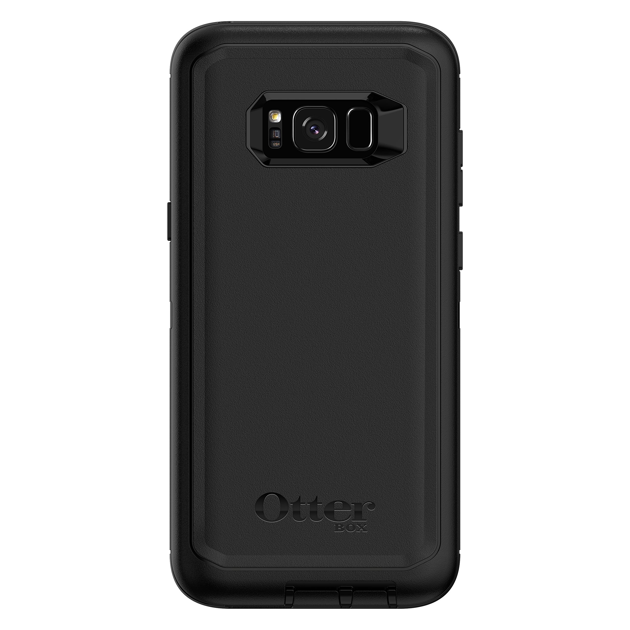 OtterBox Defender Series SCREENLESS Edition for Samsung Galaxy S8+ - Frustration Free Packaging - Black by OtterBox (Image #1)