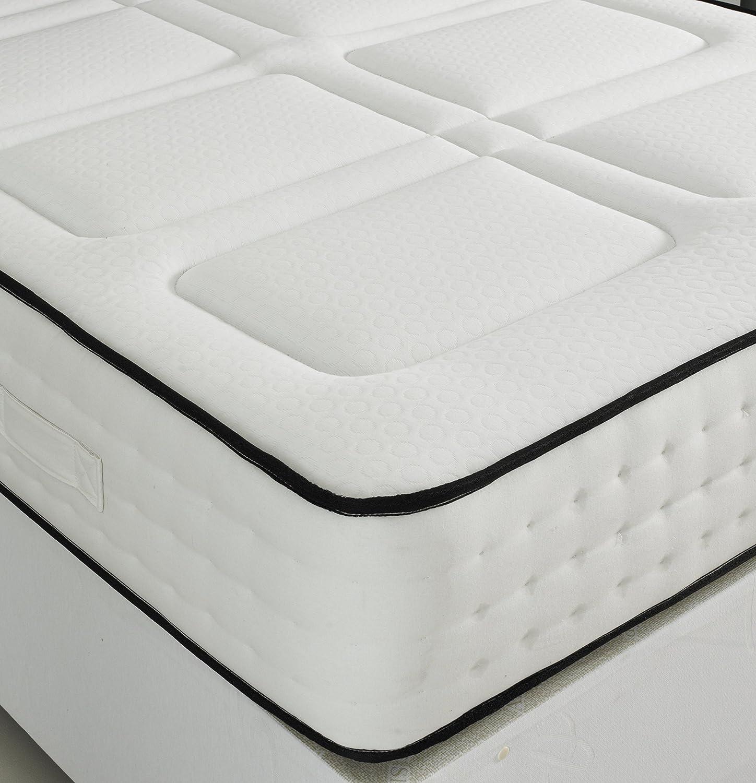 Luxury 1500 Pocket Spring Memory Foam Mattress 3ft Single