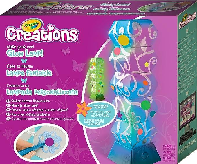 Crayola - 04-1104 - Kit de Loisir Créatif - Ma Lampe Multicolore