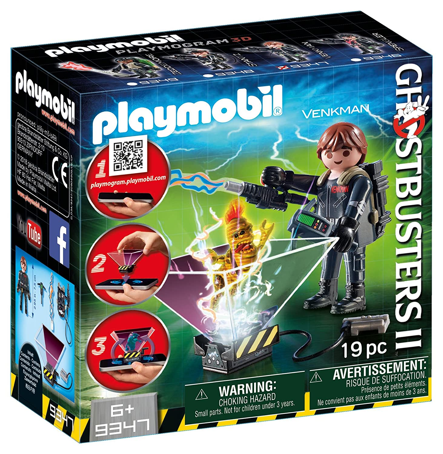 Playmobil Ghostbuster Peter Ve...