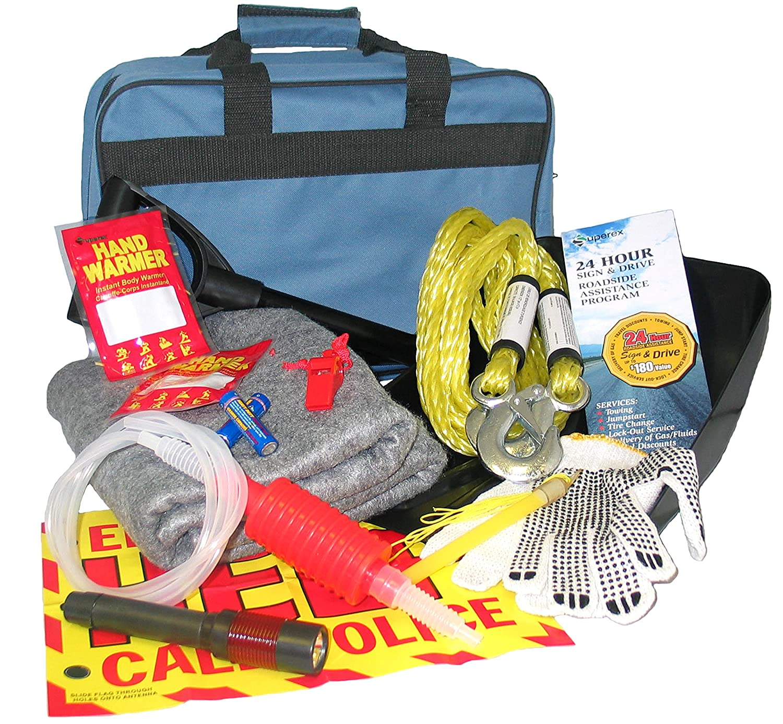 Superex SAFE TO GO 97-127 Winter Roadside Kit SUPQB