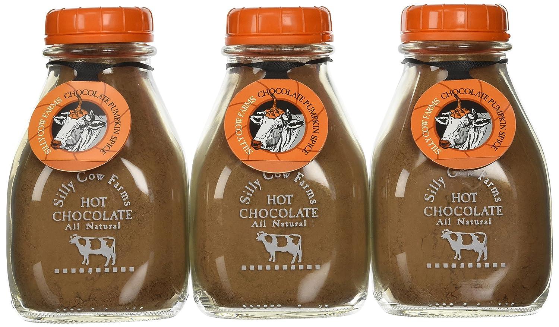 Amazon.com : Silly Cow Farms Hot Chocolate Mix 16.9oz Glass Jar ...