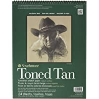 Strathmore Toned Tan Sketch Pad, 11 x 14 Inches (ST412-11)