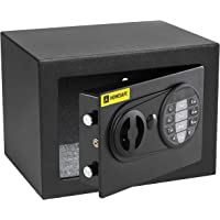 HomeSafe HV17E Caja fuerte Electrónica 17x23x17cm (HxWxD), Negro