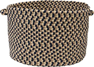 product image for Colonial Mills BU55 14 by 14 by 10-Inch Birmingham Storage Basket, Blue Crest