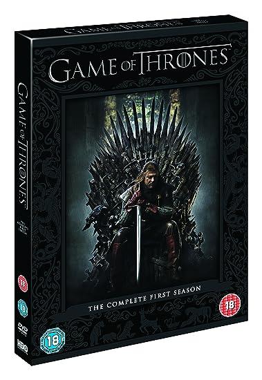 Game Of Thrones Season 1 Dvd 2012 Amazoncouk Sean