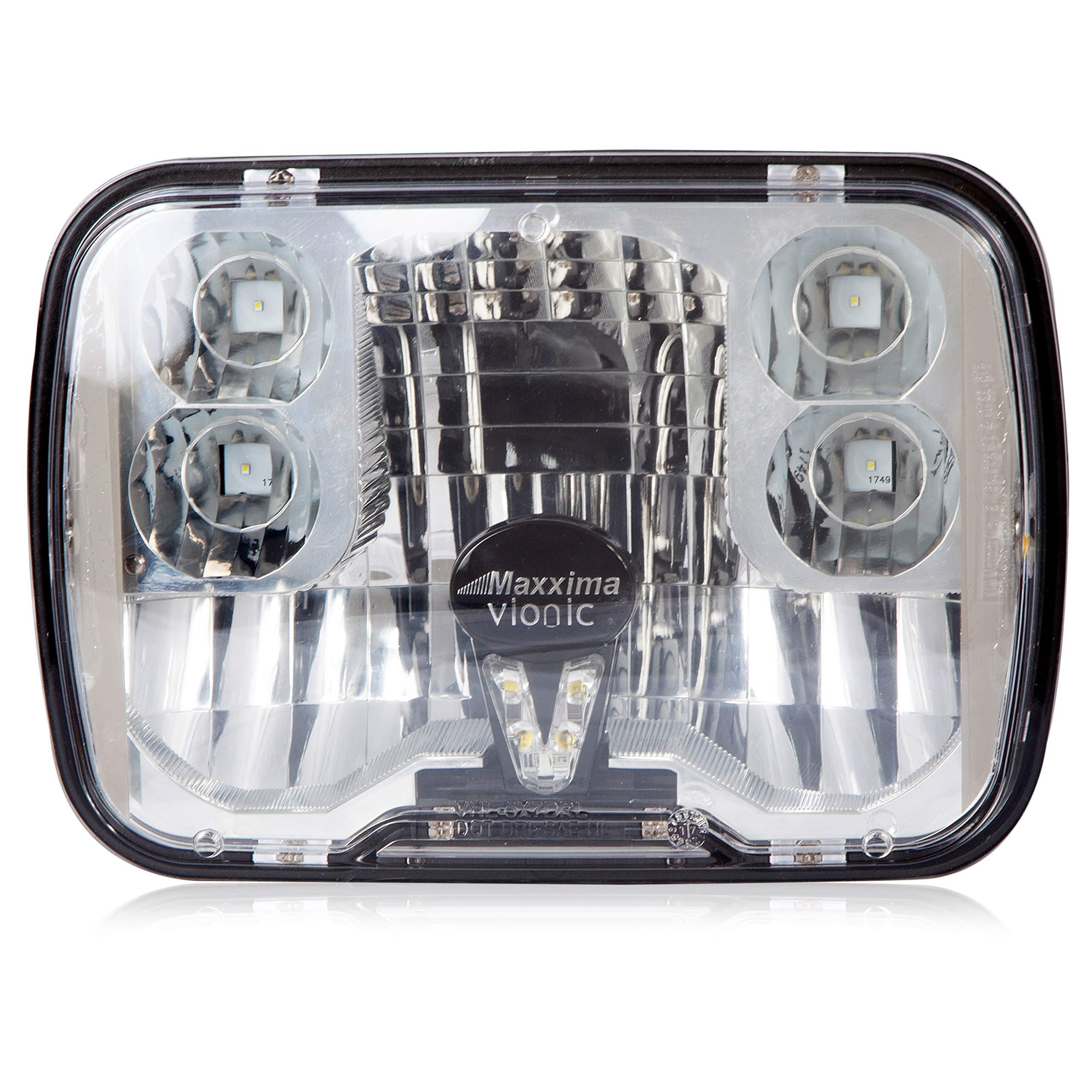 Maxxima VHL-5X7DRL-MH Vionic 5'' X 7'' Head Lamp Combo Low Beam DRL MaxxHeat Lens