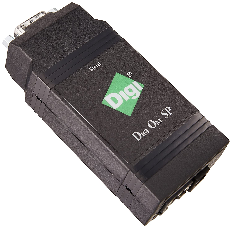 Digi One SP serial servers (9 30, 43 x 94 x 23 mm, TCP UDP, UDP Multicast, Telnet, Reverse Telnet, RFC2217, DHCP RARP ARP-Ping, 10 45 °C, 5 90%, AIX, HP-UX, Linux, SCO OpenServer 5, SCO OpenServer 6, Solaris Intel, Solaris SPARC, Windows XP, Win)