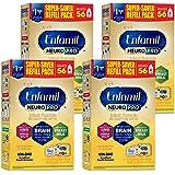 Enfamil NeuroPro Baby Formula Milk Powder Refill, 31.4 Ounce (Pack of 4) - MFGM, Omega 3 DHA, Probiotics, Iron & Immune…
