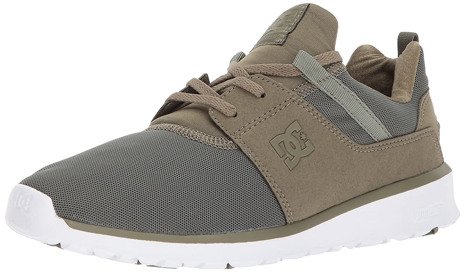 DC Men's Heathrow Casual Skate Shoe B06Y5VQYKH 11.5D D US|Olive Night/White