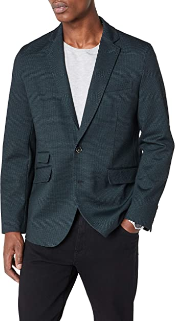 Cortefiel Americana Hombre Verde Oscuro XL: Amazon.es: Ropa y ...