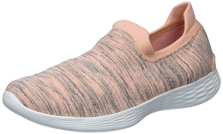 Skechers Women's You Zen Sneaker B072MT7DZN 12 B(M) US|Peach