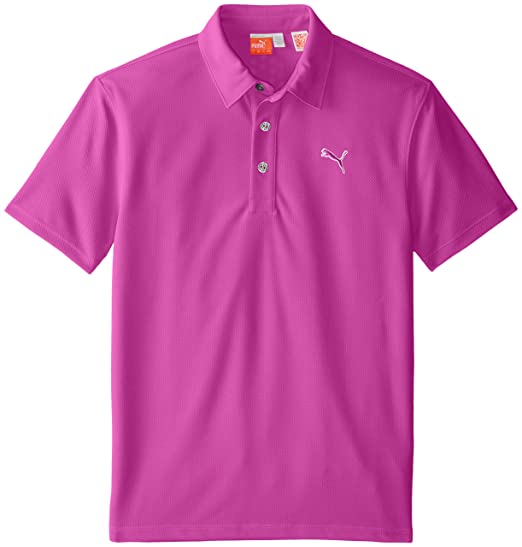 15e1b49107d4a PUMA Golf Junior Boys Tech Polo Shirt
