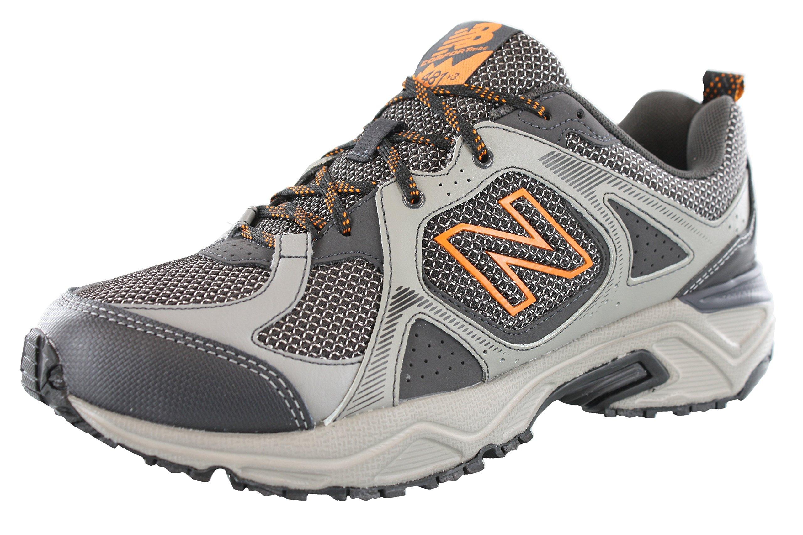 New Balance Men's 481V3 Cushioning Trail Running Shoe, Grey, 13 4E US by New Balance