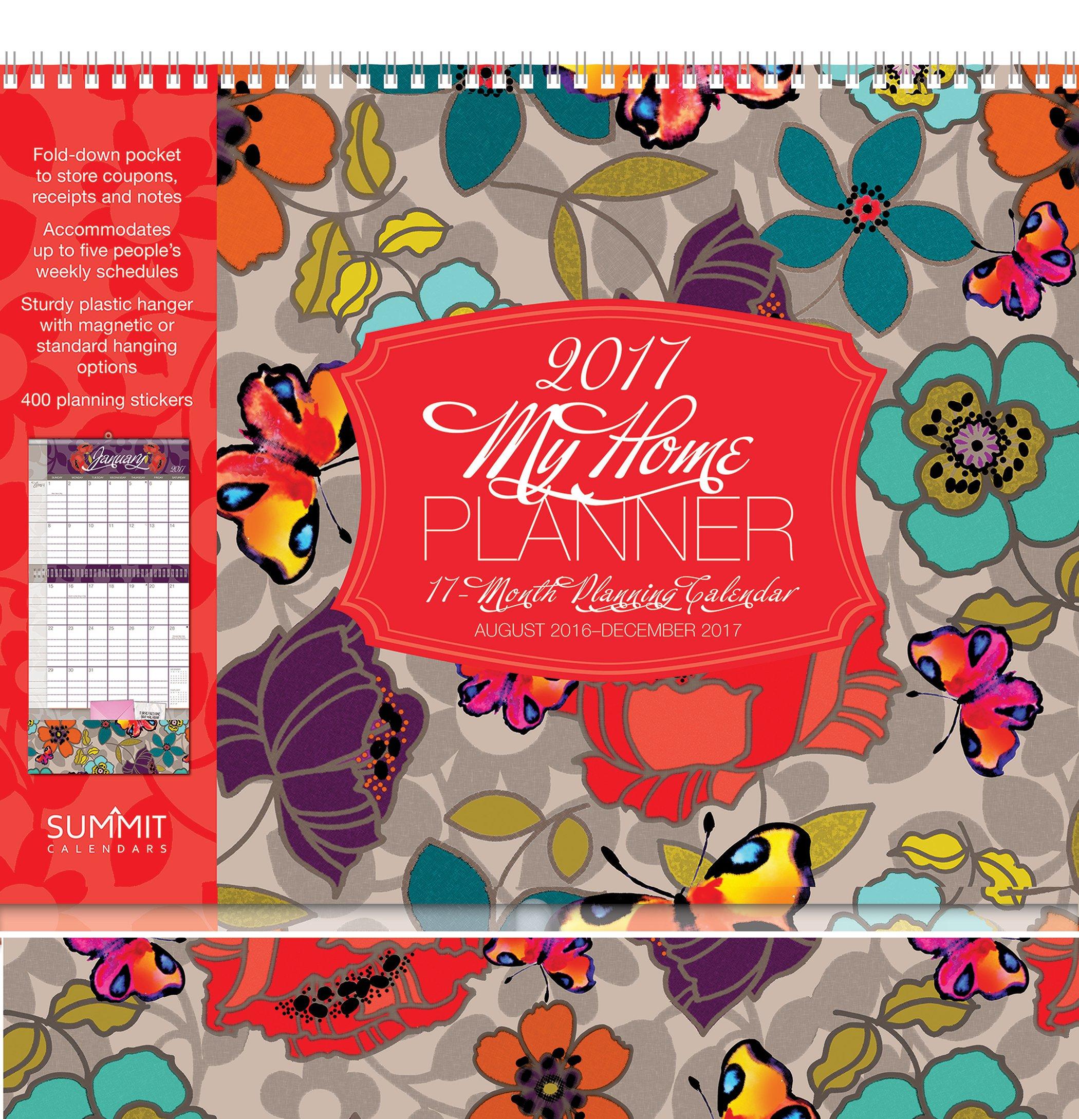 Summit 2017 Calendar My Home Planner  (90517)