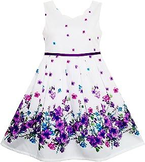 Kleid lila einschulung