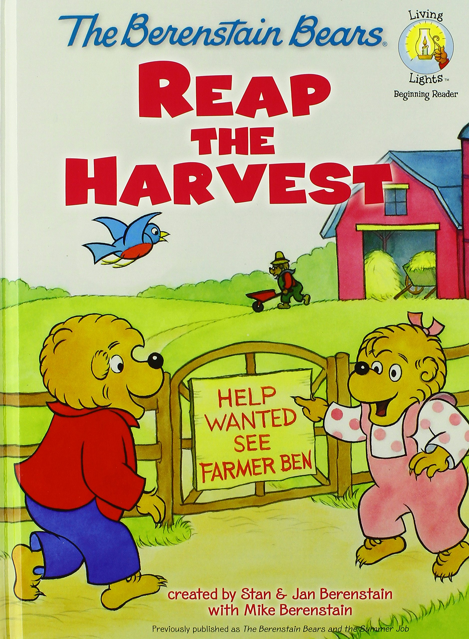 Download The Berenstain Bears Reap the Harvest (Berenstain Bears/Living Lights) PDF