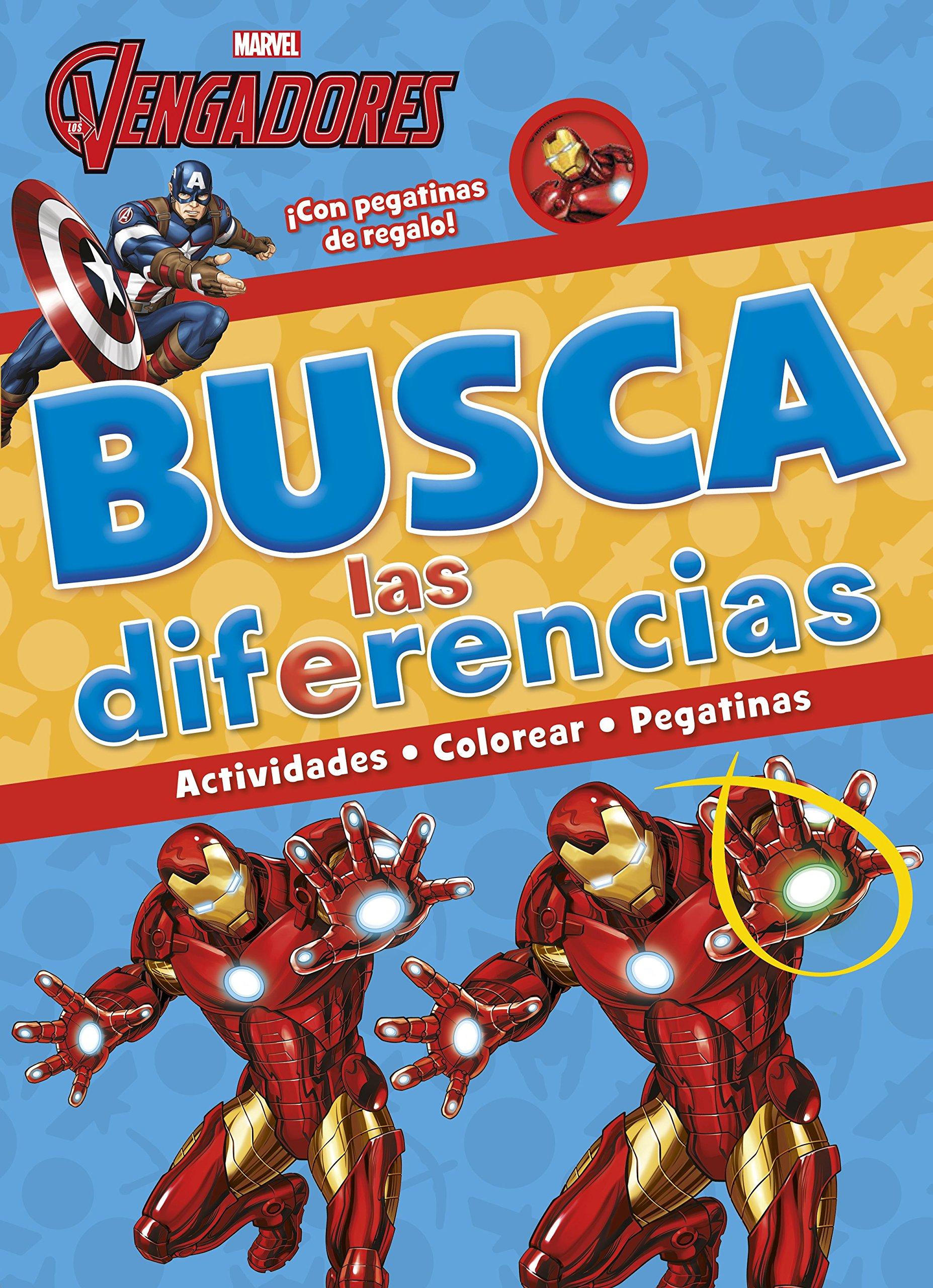 Busca las diferencias Marvel. Los Vengadores: Amazon.es: Marvel, Editorial Planeta S. A.: Libros