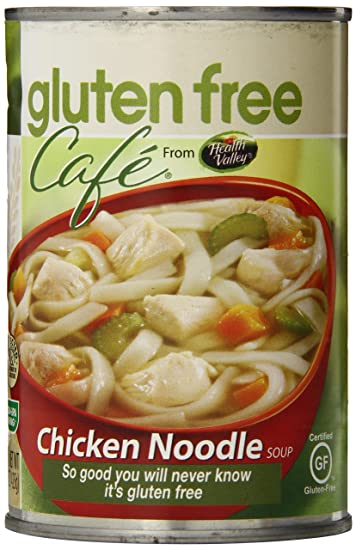 Amazon Gluten Free Cafe Chicken Noodle Soup 15 Ounce