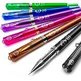 Pilot–G-Tec-C Maica–Bolígrafo de punta de gel ultrafina de 0,4mm, colores surtidos (paquete de 6 unidades)